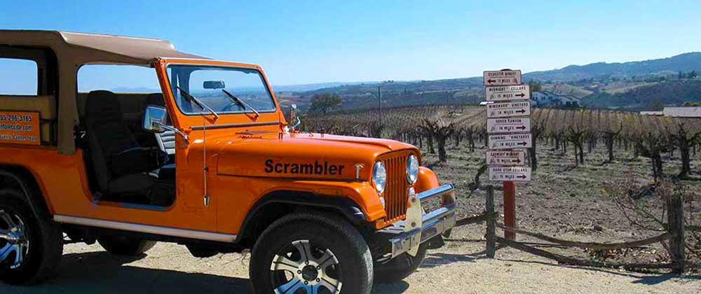 Back Roads Wine Tour, Paso Robles CA