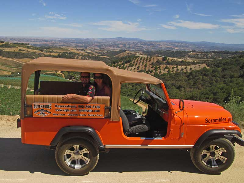 Coastal Mountain & Vineyard Wine Tour Paso Robles, CA