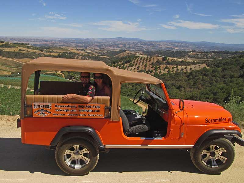 Coastal Mountain & Vineyard Wine Tour Paso Robles, CA