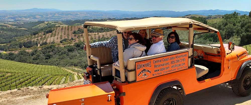 Coastal Mountain & Vineyard Tour