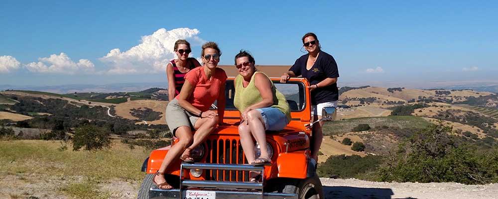 Girls' Weekend Getaway Wine Tour